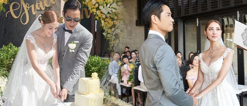 郑嘉颖巴厘岛娶陈凯琳 现场仿佛童话世界